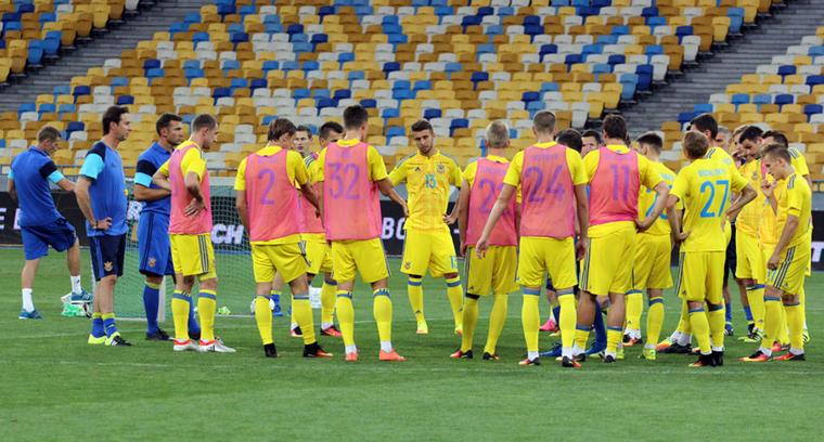 Украина проведет матч сКосово вБолгарии