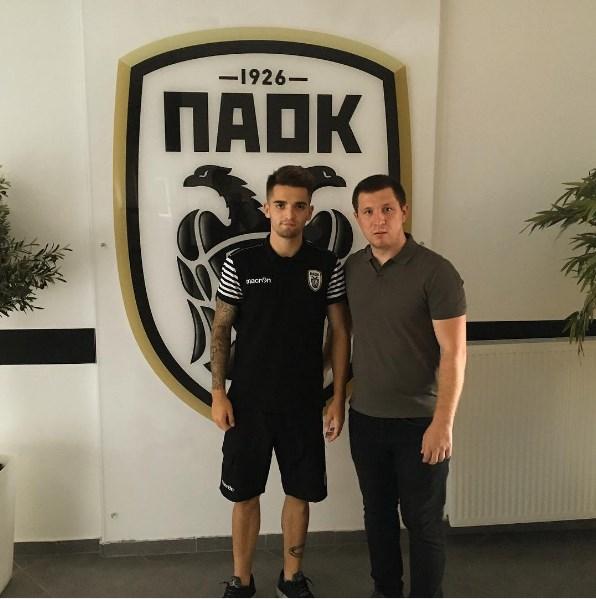 Экс-полузащитник «Динамо» U-19 Козак стал игроком ПАОК