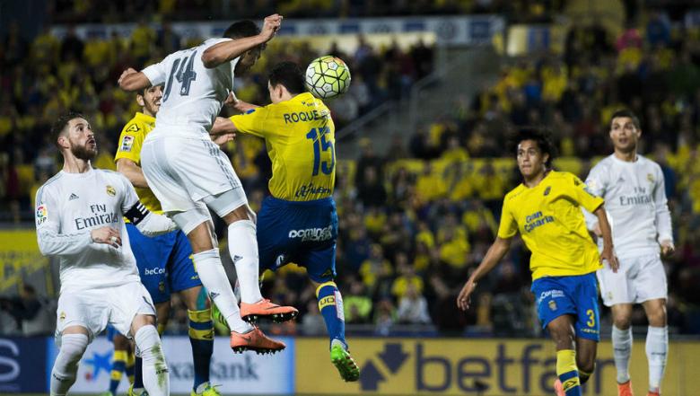 «Реал» прошляпил победу вматче с«Лас-Пальмасом»