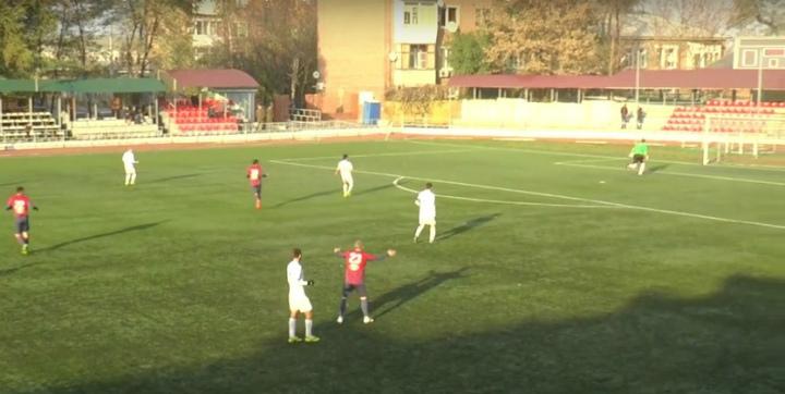 Появилось видео нереального гола вратаря ростовского СКА вПФЛ