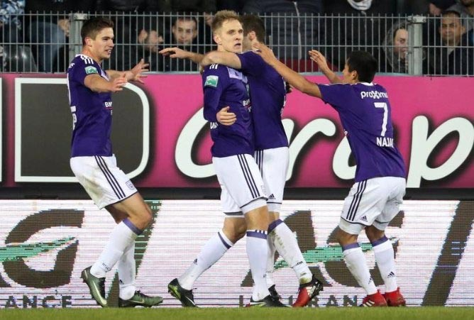 Теодорчик забил 25-й гол заАндерлехт