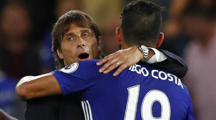 Главный тренер «Челси» Конте объявил, что Коста остается вкоманде
