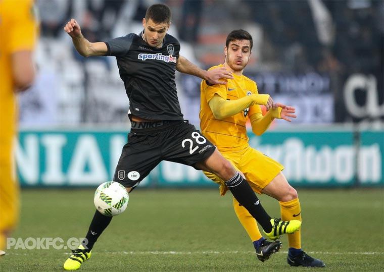 Шахов забил первый гол заПАОК вчемпионате Греции