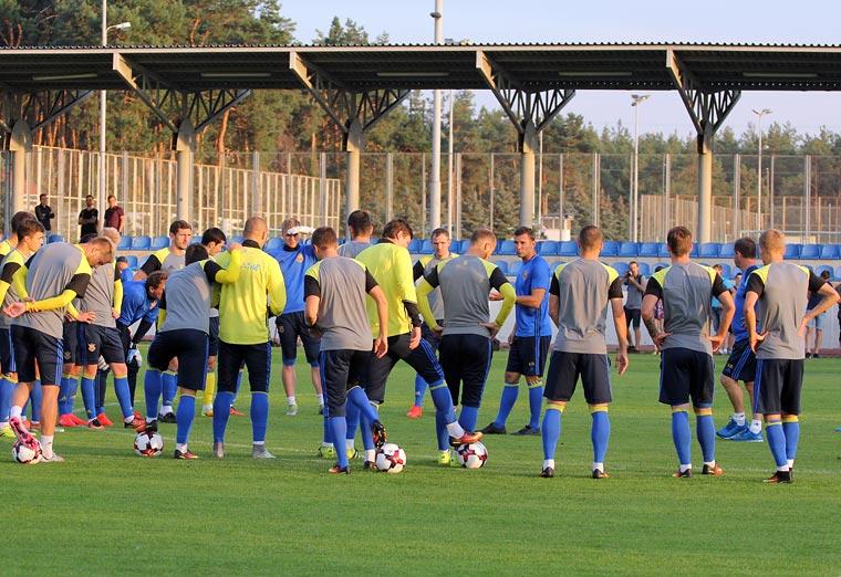 Матвиенко выйдет встартовом составе сборной государства Украины
