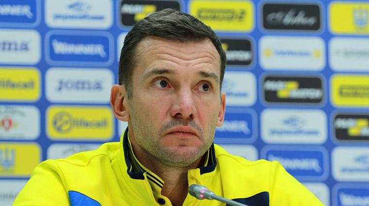 Шевченко: Яочень доволен нашей игрой, было важно показать собственный стержень