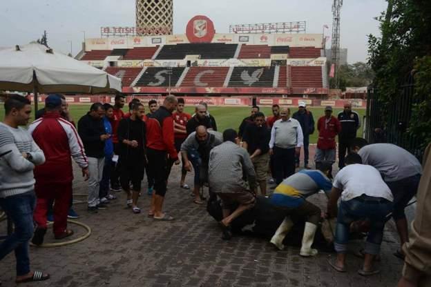ВЕгипте футбольный клуб принес вжертву быка, чтобы закончить проигрывать