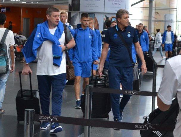 «Динамо» отправилось вИспанию на 1-ый зимний тренировочный сбор