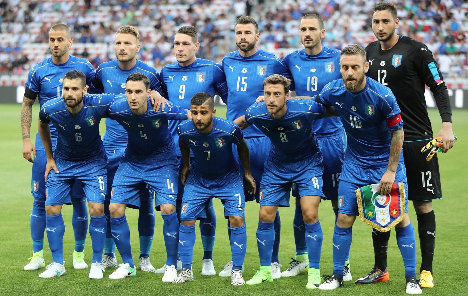 фарфор был футболисты сборной италии фото модели