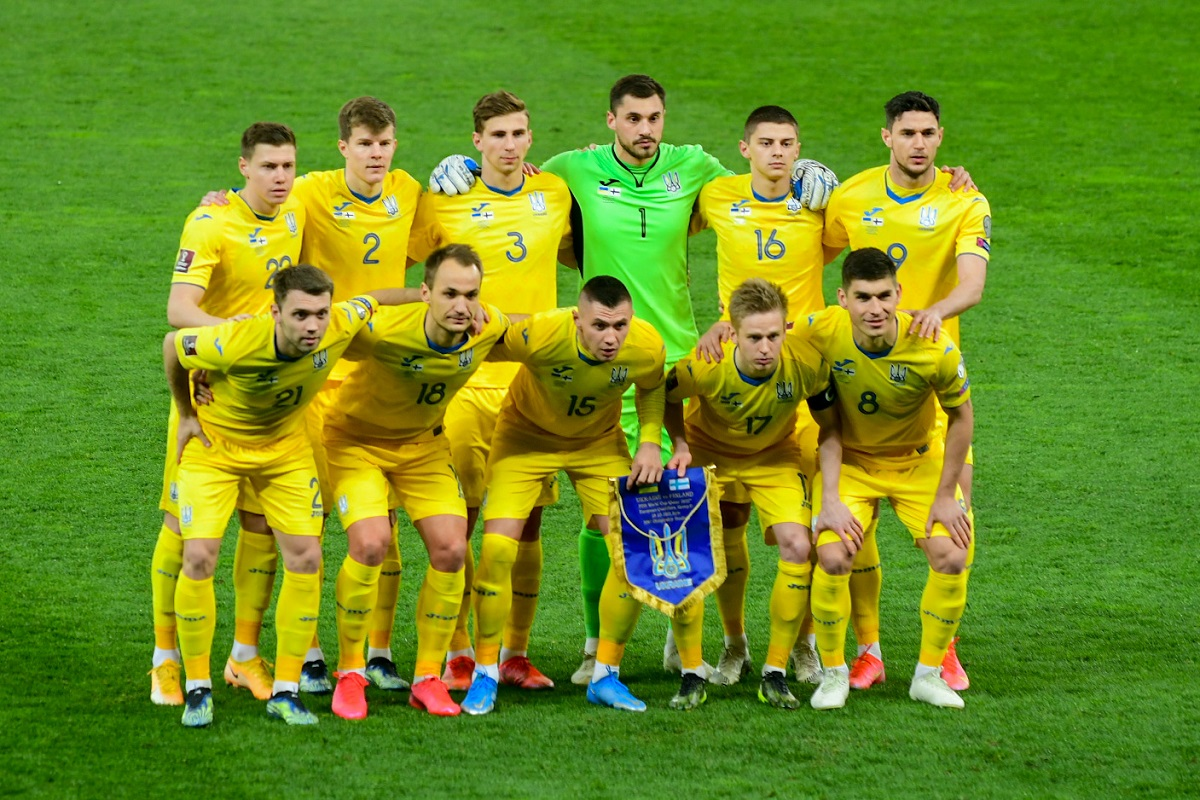 Сборная Украины — в пятерке самых молодых команд европейской квалификации ЧМ-2022