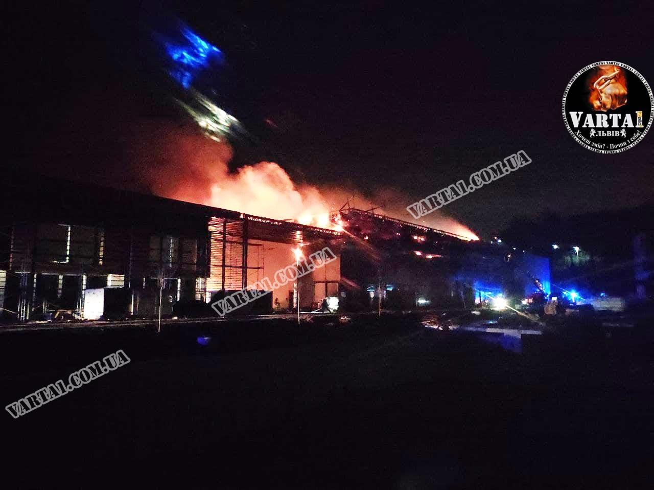 В академии Руха произошел пожар